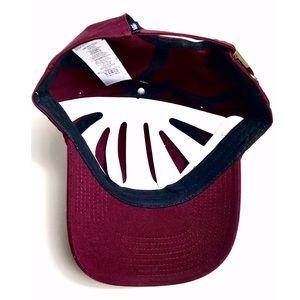 Vans Accessories - NWT Vans Curved Bill Burgundy Jockey Dad Hat